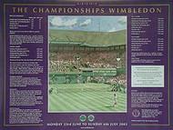 Wimbledon Tennis Championships 2003 ORIGINAL CINEMA POSTER