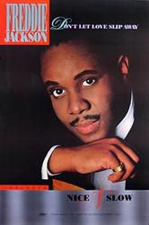 FREDDIE JACKSON ('88 Promo Poster) ORIGINAL MUSIC POSTER
