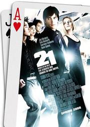 21 (Double Sided Regular) ORIGINAL CINEMA POSTER