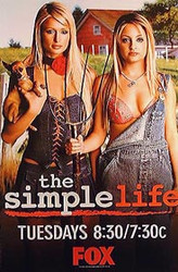 THE SIMPLE LIFE (Single Sided) ORIGINAL TV POSTER