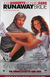 RUNAWAY BRIDE (Video) ORIGINAL VIDEO/DVD AD POSTER