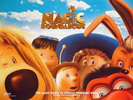 THE MAGIC ROUNDABOUT MOVIE (Single Sided) ORIGINAL CINEMA POSTER