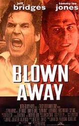 BLOWN AWAY ORIGINAL CINEMA POSTER