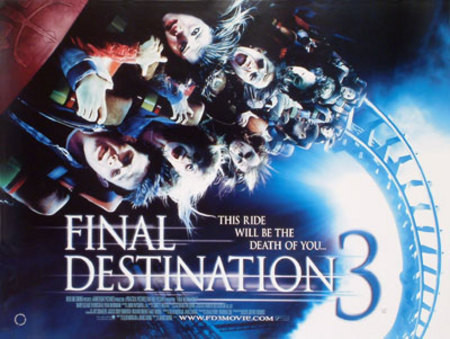 FINAL DESTINATION 3 (SINGLE SIDED) POSTER buy movie ...