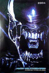 ALIEN VS PREDATOR (Alien Double Sided Advance) ORIGINAL CINEMA POSTER