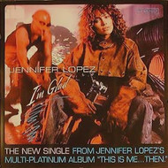 JENNIFER LOPEZ ORIGINAL MUSIC POSTER