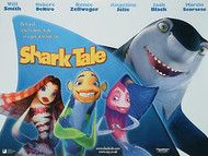 SHARK TALE (DOUBLE SIDED) ORIGINAL CINEMA POSTER