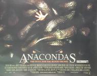 ANACONDAS (DOUBLE SIDED) ORIGINAL CINEMA POSTER