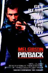 PAYBACK ORIGINAL CINEMA POSTER