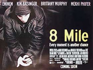 8 MILE (DOUBLE SIDED) ORIGINAL CINEMA POSTER