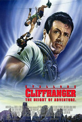 CLIFFHANGER (Double Sided International) ORIGINAL CINEMA POSTER