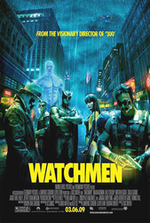 WATCHMEN ORIGINAL CINEMA POSTER