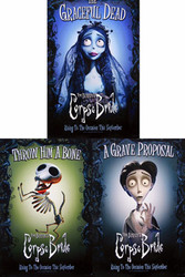 CORPSE BRIDE (Single-sided Set of 3 Character posters) ORIGINAL CINEMA POSTER