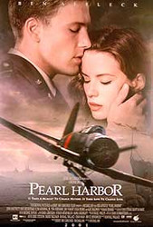 PEARL HARBOR (International Advance Double Sided) ORIGINAL CINEMA POSTER