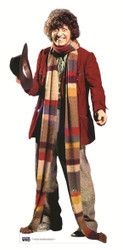 The 4th Doctor Tom Baker Classic Cutout