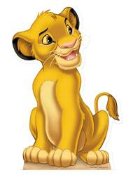 Simba (Lion King) Cutout