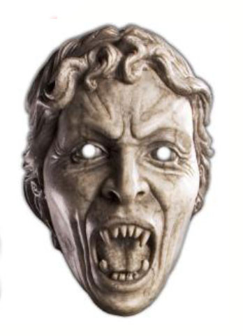 Weeping Angel Face Mask