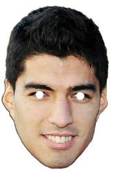 Luis Suarez Face Mask