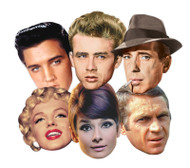 Hollywood Party Face Mask Set of 6