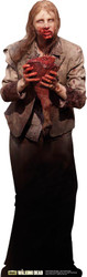 Feeding Zombie The Walking Dead Lifesize Cardboard Cutout