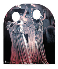 Weeping Angel Child Size Doctor Who Cardboard Cutout Stand-in