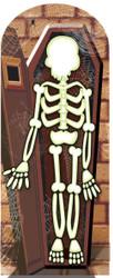 Skeleton Halloween Stand-in Cardboard Cutout