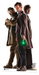 The Three Doctors Lifesize Cardboard Cutout - Doctor Who 50th Anniversary