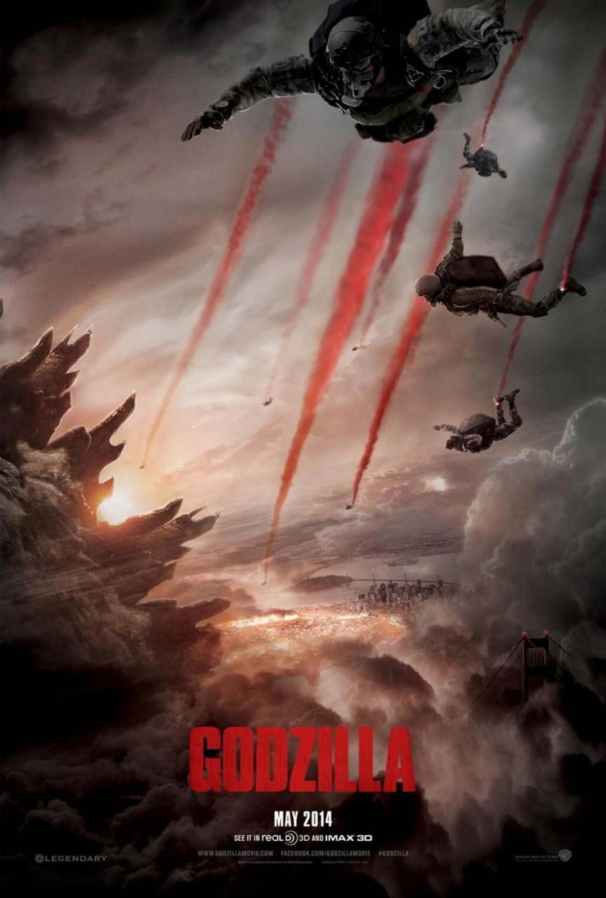 godzilla 2014 movie poster buy original film and movie