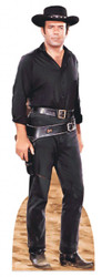 Pernell Roberts as Adam Cartwright from Bonanza Lifesize Cardboard Cutout