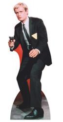 David McCallum as Illya Kryakin in The Man From Uncle Lifesize Cardboard Cutout