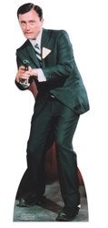Robert Vaughn as Napolean Solo in The Man from Uncle Lifesize Cardboard Cutout