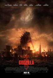 Godzilla Original Movie Poster One Sheet