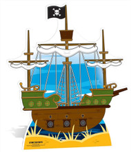 Pirate Ship Large Cardboard Cutout