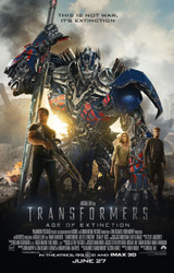 Transformers Age Of Extinction Original Movie Poster One Sheet