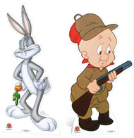 Bugs Bunny and Elmer Fudd Cardboard Cutout Pack
