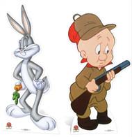 Bugs Bunny and Elmer Fudd Cardboard Cutout Pack