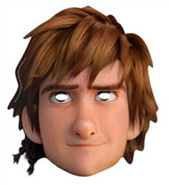 Hiccup How To Train Your Dragon 2 Party Face Mask