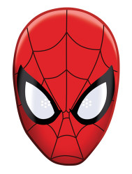 Spider-Man Party Face Mask (Single)
