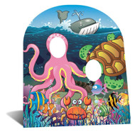Under the Sea - Child Size Cardboard Cutout
