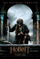 The Hobbit Five Armies Poster