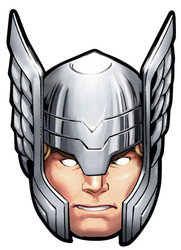 Thor Card Party Face Mask