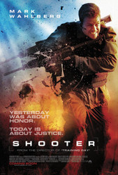 Shooter International Style Original Movie Poster