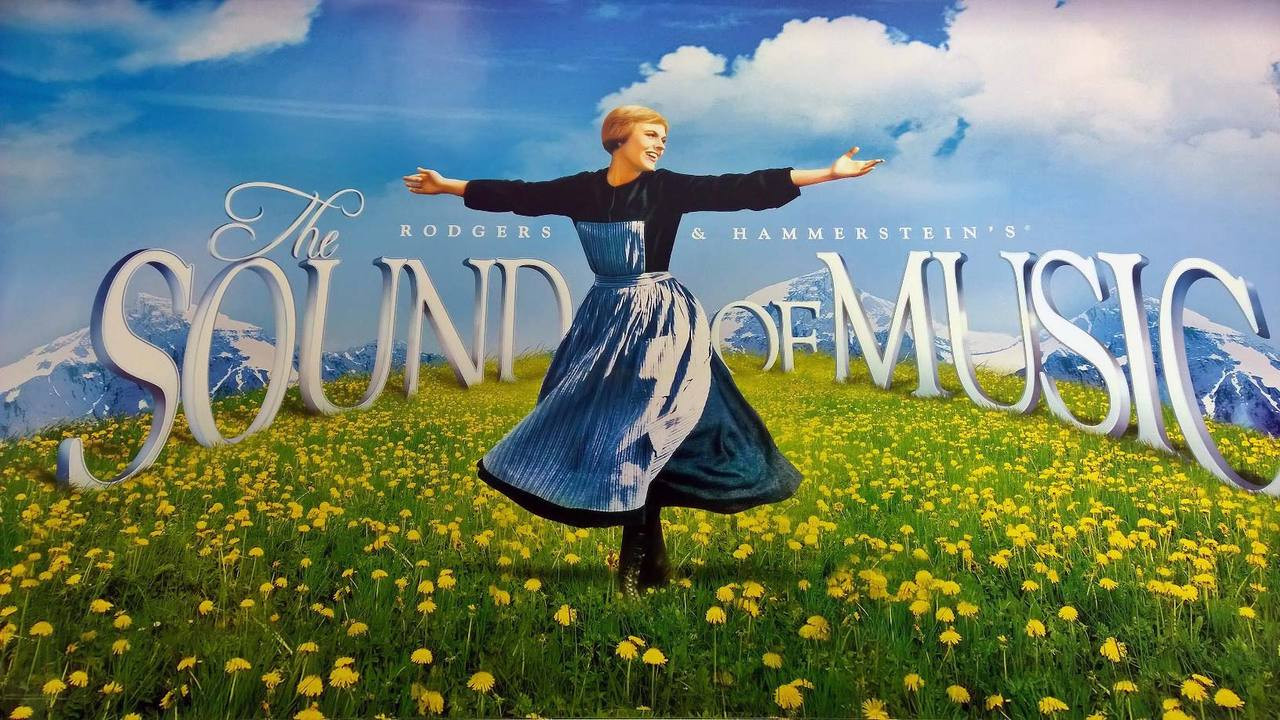 the sound of music original movie poster single sided re