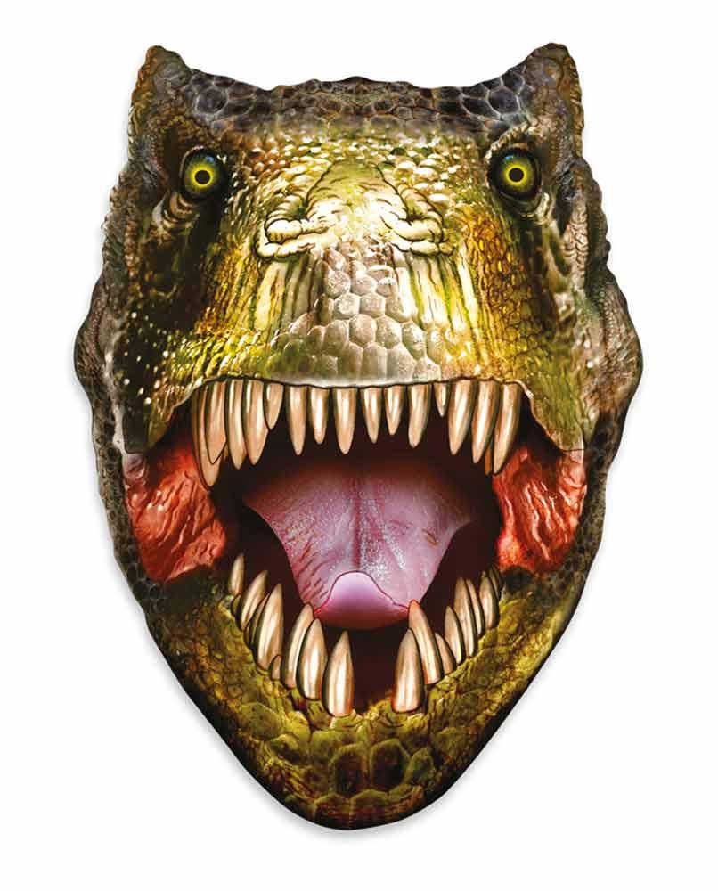 Tyrannosaurus Rex 3d Effect Pop Out Cardboard Cutout Wall