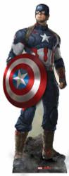 Captain America Avengers Age of Ultron Lifesize Cardboard Cutout