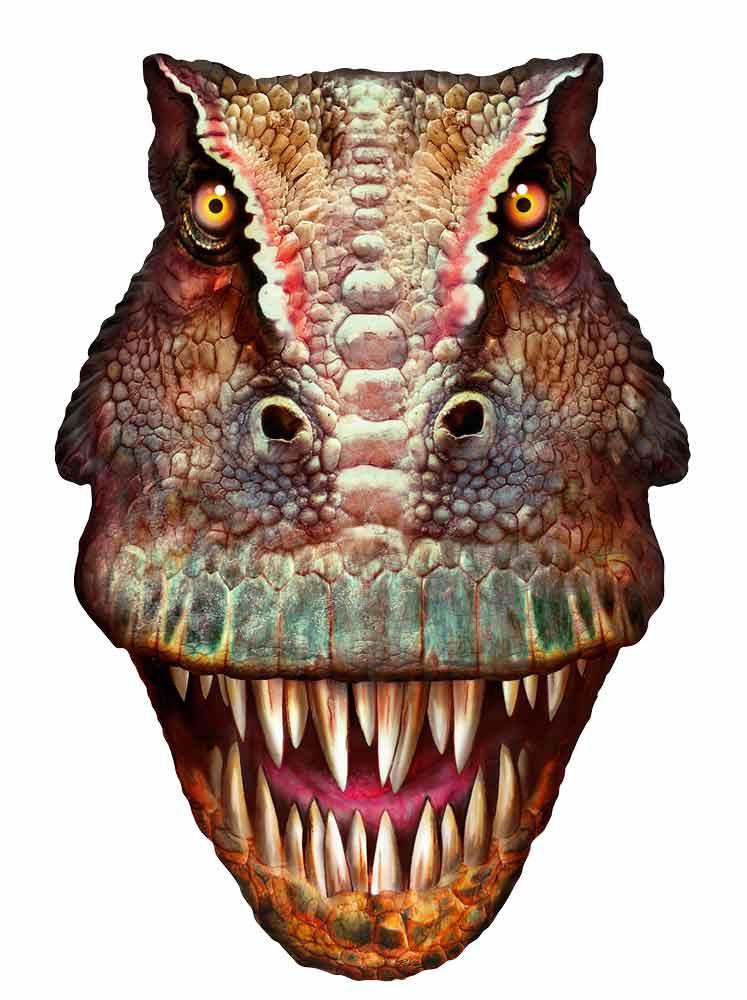 Allosaurus 3d Effect Pop Out Cardboard Cutout Wall Art