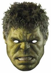 The Hulk Avengers Age of Ultron Single Card Mask