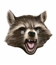 Rocket Raccoon Guardians of the Galaxy Single Card Face Mask