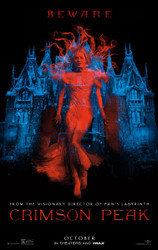 Crimson Peak Original Movie Poster