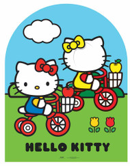 Hello Kitty and Mimmy Cardboard Stand-in Cutout
